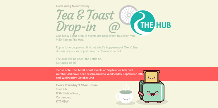 Tea & Toast Drop-in at The Hub